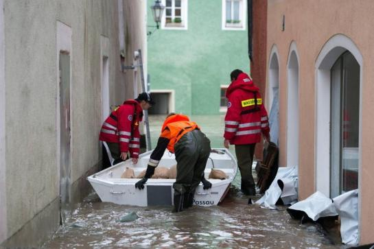 Flooding in Bavaria