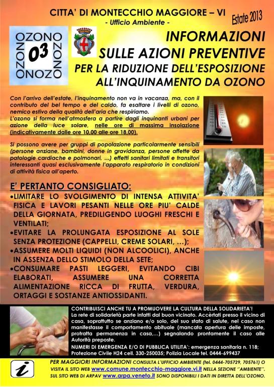 Info azioni contro ozono