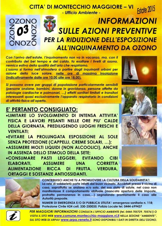 Manifesto ozono