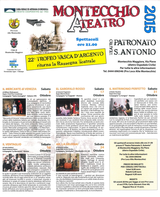 Montecchio A Teatro