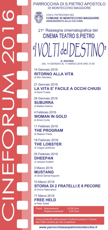 locandina cineforum 2015-16