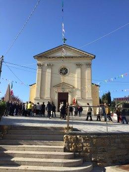 Un nuovo piazzale per la chiesa di S.Urbano