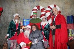 La vera dimora di Babbo Natale apre 10 giorni per far felici tutti ibambini
