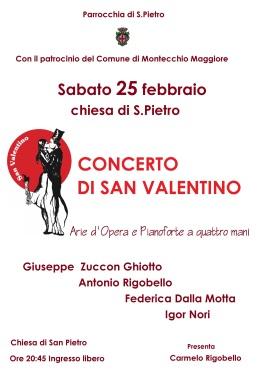 Un concerto lirico chiude l'antica sagra di SanValentino