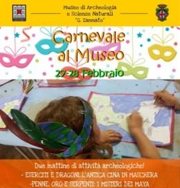 """Carnevale al Museo """"Zannato"""""""