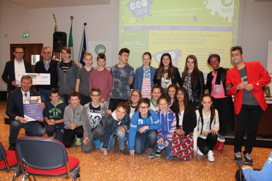 3° classificata classe II B istituto Floriani Recoaro