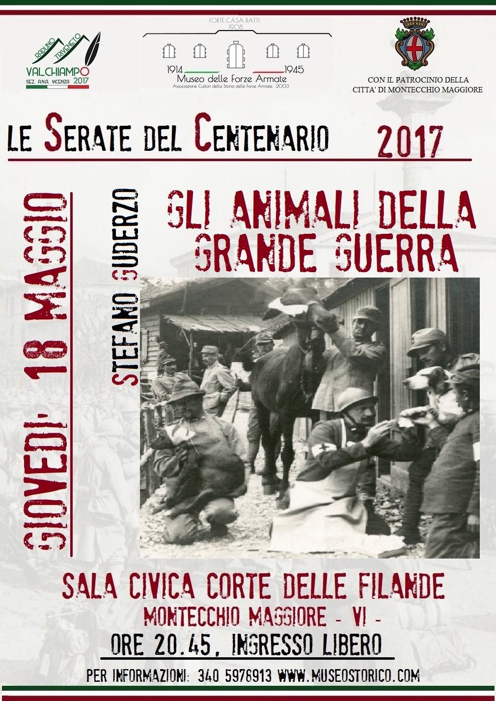 ANIMALI DELLA GRANDE GUERRA