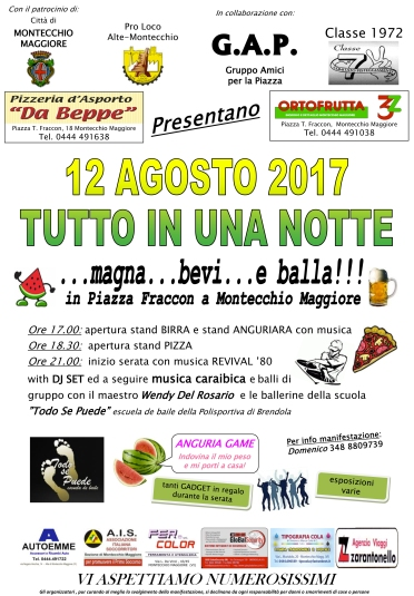 Con il patrocinio della città di Montecchio Maggiore