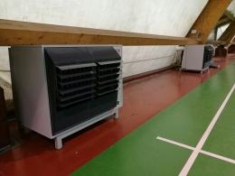 Potenziato l'impianto di riscaldamento nella tensostruttura sportiva di PiazzaleCollodi