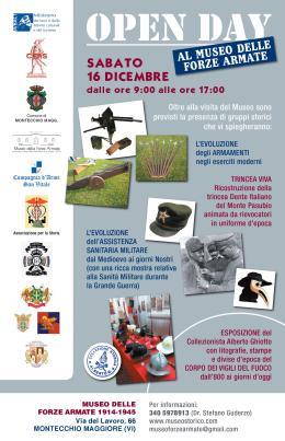 Open day al Museo delle Forze Armate1914-1945