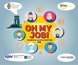 """""""Oh my job!"""", terzo appuntamento per parlare di orientamento all'imprenditorialità"""