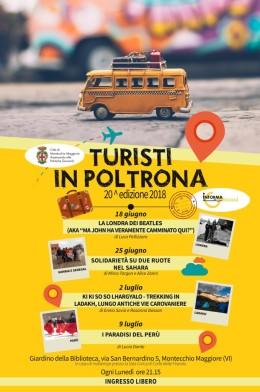 """""""Turisti in poltrona"""", XXedizione"""