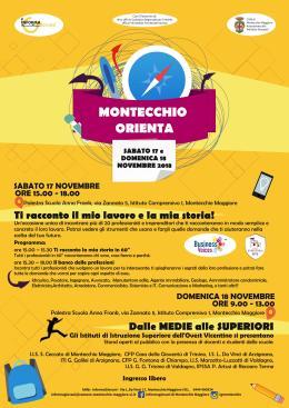 """""""Montecchio orienta"""", per costruire il propriofuturo"""