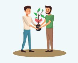 Chi pianta un albero salva il mondo! Un'azienda vicentina regala in Piazza Marconi 120 alberi alle famiglie per migliorarel'ambiente