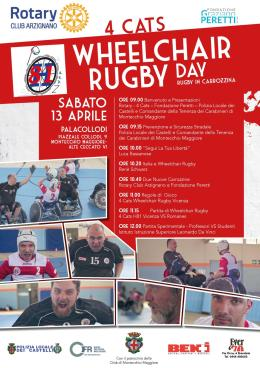 Wheelchair rugby day