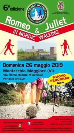 Romeo & Juliet in Nordic Walking giunge alla sesta edizione con un nuovopercorso