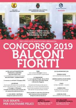 """Quarta edizione del concorso """"Balconi fioriti"""", per una città più bella ecolorata"""