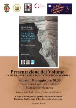 """Presentazione del libro """"La pietra vulcanica di Montecchio Maggiore – Un viaggio neltempo"""""""