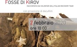 L'esperienza di scavo delle fosse di Kirov raccontata dai volontari dell'Italian RecoveryTeam