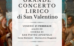 Torna il Grande Concerto Lirico di San Valentino, nel ricordo del prof. RemoSchiavo