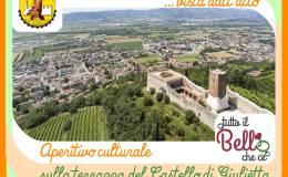 Montecchio Maggiore vista dall'alto, grazie agli aperitiviculturali