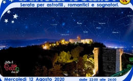 A Riveder le Stelle! Serata per astrofili, romantici e sognatori sulla terrazza del Castello diGiulietta
