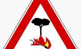 Rischia di causare un incendio boschivo bruciando sterpaglie in un periodo vietato: sanzionato con una multa di oltre 2000euro